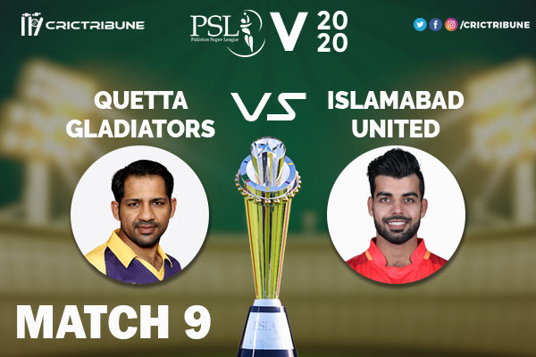 ISL vs QUE Live Score 9th Match between Multan Sultans vs Peshawar Zalmi Live on 27 February 2020 Live Score & Live Streaming