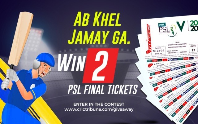 PSL Final Tickets Giveaway CricTribune