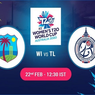 WI W vs TL W Live Score 2nd Match between West Indies Women vs Thailand Women Live on 22 February 20 Live Score & Live Streaming