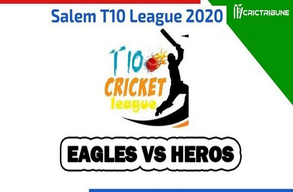 Eagles vs Heros Live Score between Salem Eagles vs Salem Heros Live on 26 March 2020 Live Score & Live Streaming.
