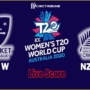 AU W vs NZ W Live Score, 18th Match, Australia Women vs New Zealand Women Live Cricket Score