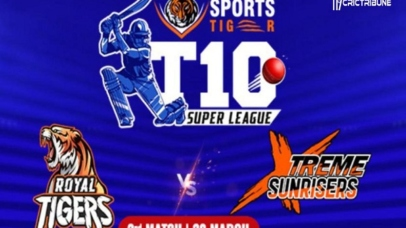 RT vs XS Live Score 1st T10 Match between Royal Tigers vs Xtreme Sunrisers Live on 20 March 2020 Live Score & Live
