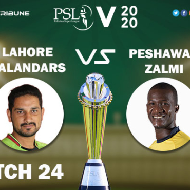 LAH vs PES Live Score 24th Match between Lahore Qalandars vs Peshawar Zalmi Live on 10 March 2020 Live Score & Live Streaming.