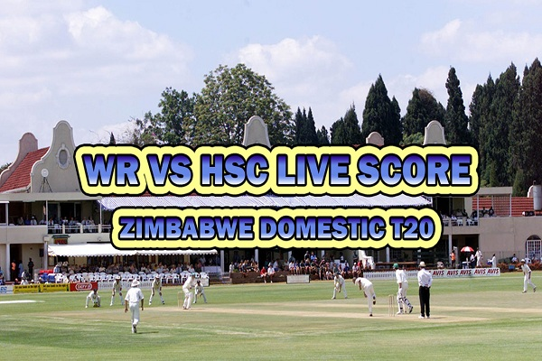 WR vs HSC Live Score T20 Match of Zimbabwe Domestic T20 between Harare Sports Club vs White Rhinos on 30 March 20 Live Score & Live Streaming