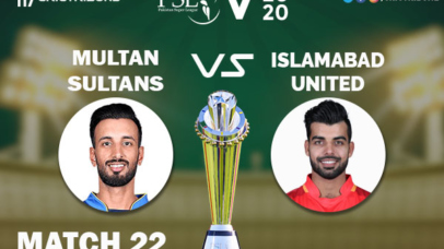 MUL vs ISL Live Score 22nd Match between Multan Sultans vs Islamabad United Live on 07 March 2020 Live Score & Live Streaming.