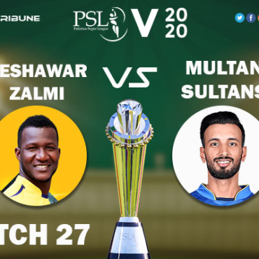 PES vs MUL Live Score 27th Match between Peshawar Zalmi vs Multan Sultans Live on 13 March 2020 Live Score & Live Streaming.