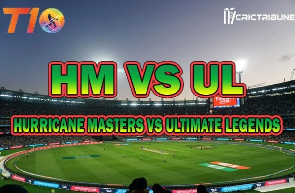HM vs UL Live Score 3rd Match between Hurricane Masters vs Ultimate Legends Live on 21 March 2020 Live Score & Live Streaming