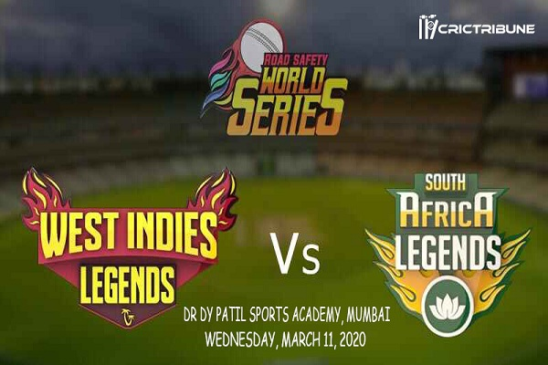 WI L vs SA L Live Score 4th Match between West Indies Legends Vs South Africa Legends Live on 11 March 2020 Live Score & Live Streaming.