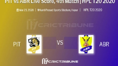 PIT vs ABR Live Score between Plus Infinity Tigers vs Advanced Balance Riders Live on 22 March 2020 Live Score & Live Streaming.