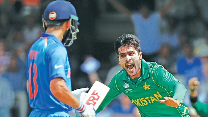 Happy Birthday M. Amir; nostalgic with Kohli's CT17 wicket