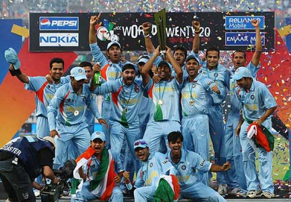 Back in 2007 under MS Dhoni's captaincy, Sharma was part of the ICC T20 World Cup when India managed to win in the finals of the event.