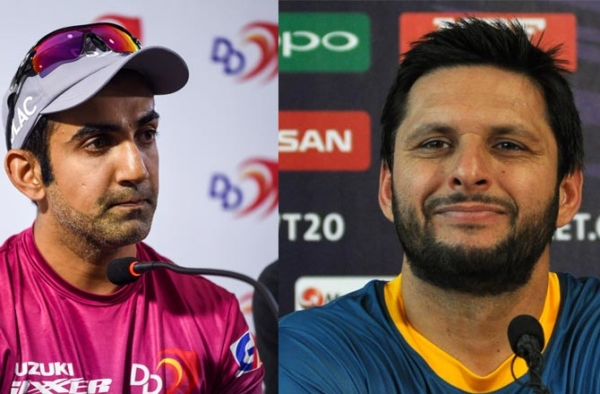 Shahid Afridi: Gautam has problems as a human