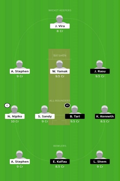 MFE vs IS Live Score, MFE vs IS Live Cricket Score, 8th Match Vanuatu T10 League 1