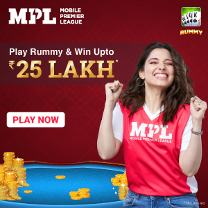 Play Rummy & Win upto 25 Lakh
