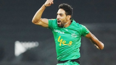 Haris Rauf tests negative for COVID-19 finally but not allowed for England tour. Image courtesy: Cricket Australia