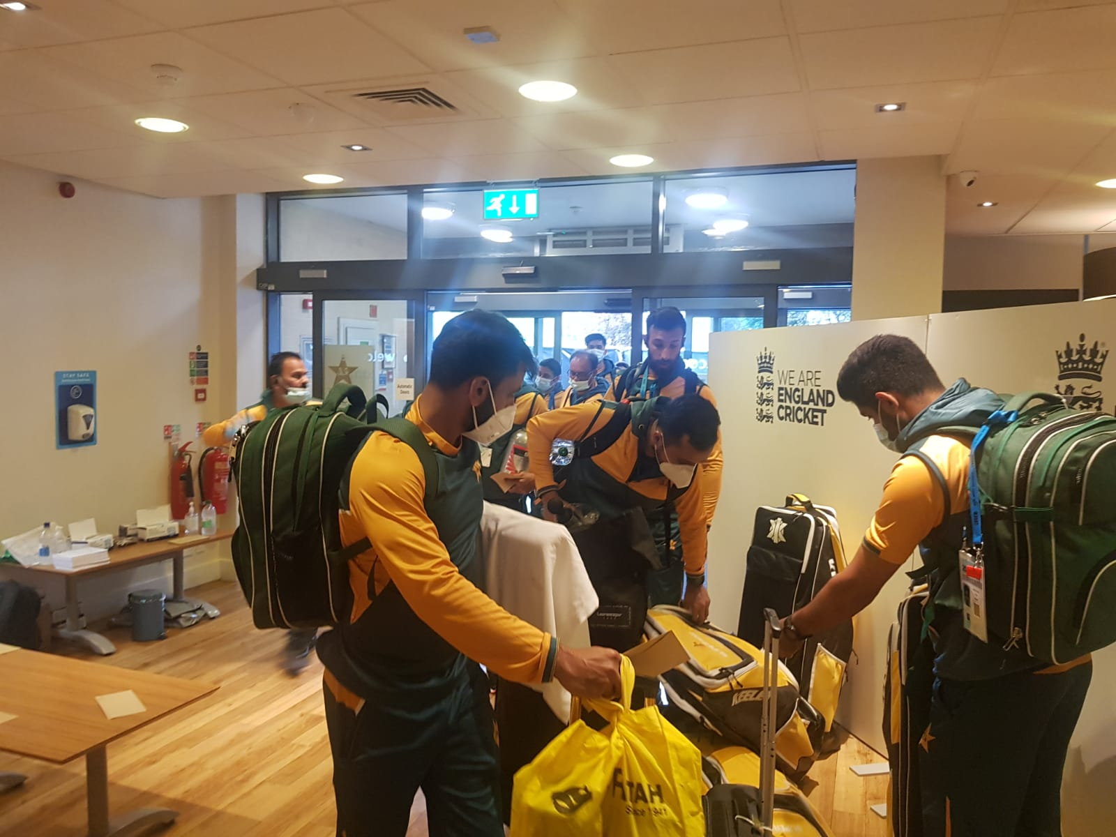 PCB releases the training schedule, team arrives in Derby