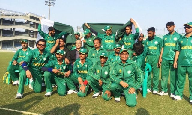 Pakistan Blind Cricket Council to grant central contracts to 17 players