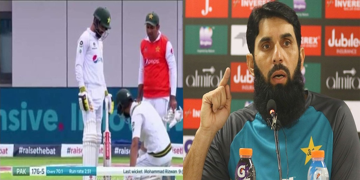 Misbah answers to social media critics on Sarfaraz's carrying drinks: I also did it as a captain: Image courtesy: Bol News