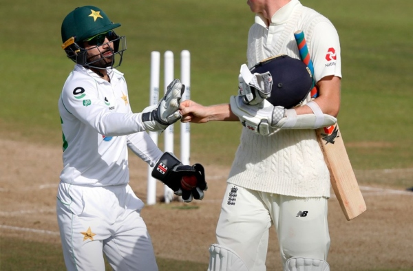 England's 580+ is a new challenge for Pakistan to face. Image: Twitter
