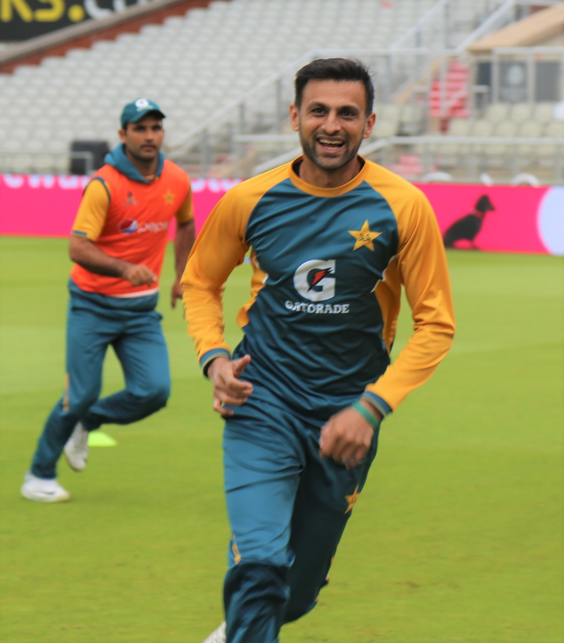 Shoaib Malik ready to feature in a three-match T20I series. Pakistan vs England. Image: Twitter
