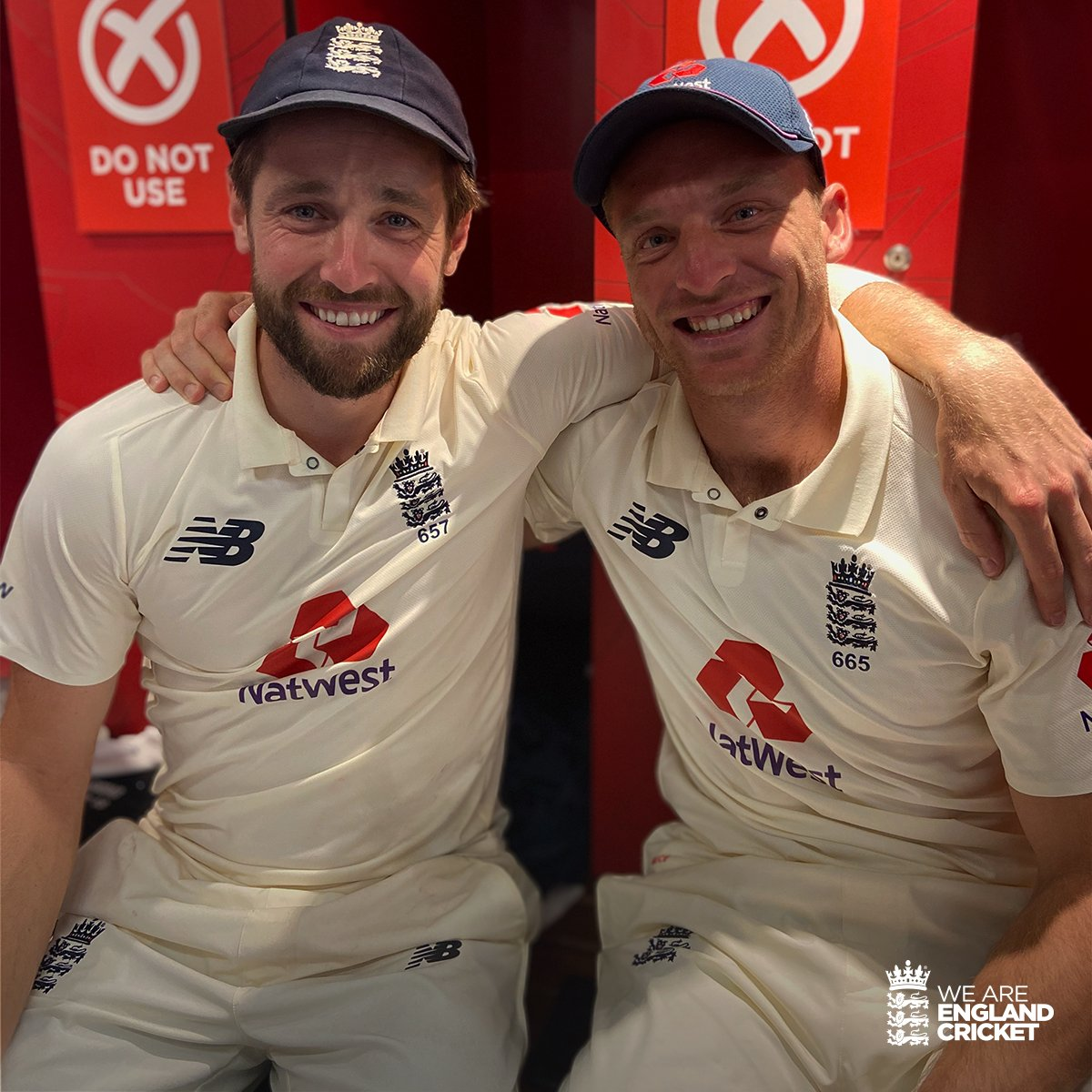 Jos Buttler feared the first match against Pakistan would have been last of his Test career. Image Credits: Twitter, ECB