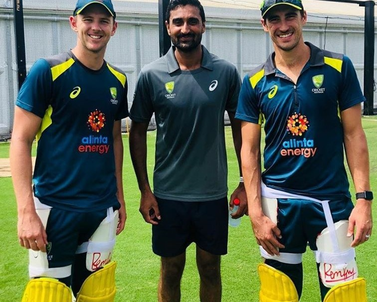 Mitchell Starc club made a 5-year contract with Irfan Junior