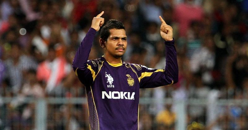 KKR surprised on Sunil Narine's suspected bowling action