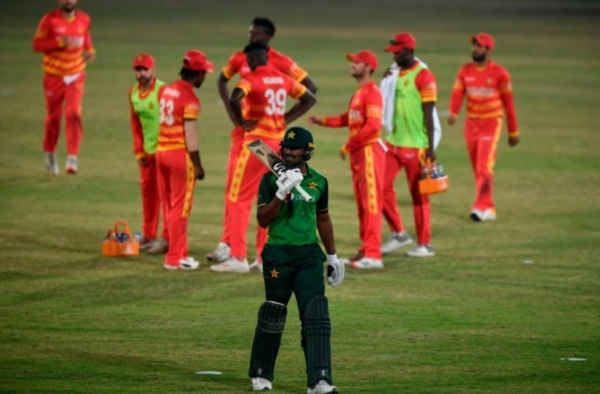 Pakistan dissatisfied in super over, could not whitewash Zimbabwe