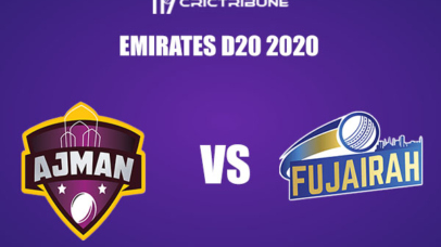 AJM vs FUJ Live Score, In the Match of Emirates D20 Tournament 2020 which will be played at ICC Cricket Academy, Dubai. AJM vs FUJ Live Score, Match between....
