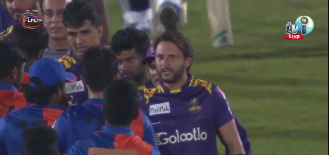 Afridi reveals what he said to Naveen on abusing Amir