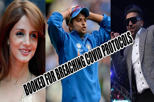 Cricketer Suresh Raina, artist Guru Randhawa, and Sussanne Khan are among 34 individuals who were reserved by the Mumbai Police following an attack at the JW...