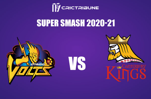 OV vs CK Live Score, In the Match of Super Smash 2020 which will be played at Molyneux Park in Alexandra. OV vs CK Live Score, Match between Otago Volts........