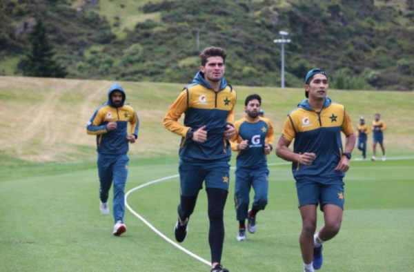 Pakistani players begin training in New Zealand