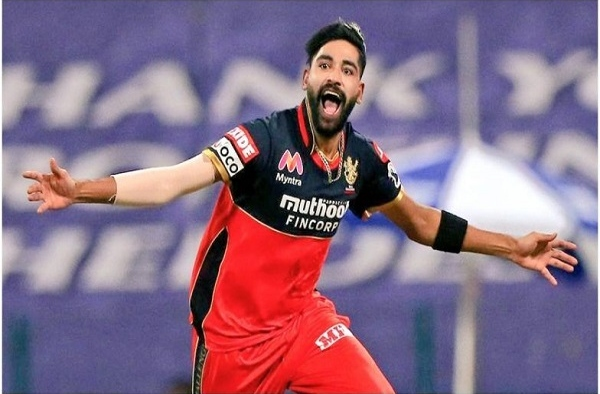 Mohammed Siraj 's dad Mohammed Ghaus had breezed through away before the Assessment arrangement started. Offered the opportunity to fly home, Siraj declined and