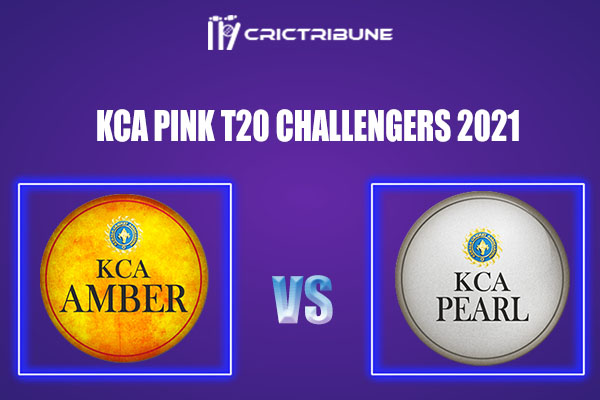 AMB vs PEA Live Score,In theMatchof KCA Pink T20 Challengers2021which will be played at Sanatana Dharma College Ground in Alappuzha. AMB vs PEA Live Score.