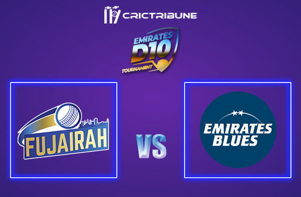 FUJ vs EMB Live Score, In the Match of Emirates D10 2021 which will be played at Sharjah Cricket Stadium, Sharjah. FUJ vs EMB Live Score, Match between.........