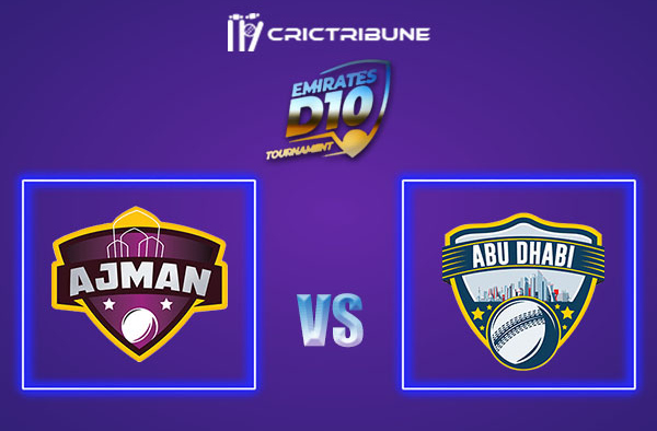 ABD vs AJM Live Score, In the Match of Emirates D10 2021 which will be played at Sharjah Cricket Stadium, Sharjah. ABD vs AJM Live Score, Match between Ajman...