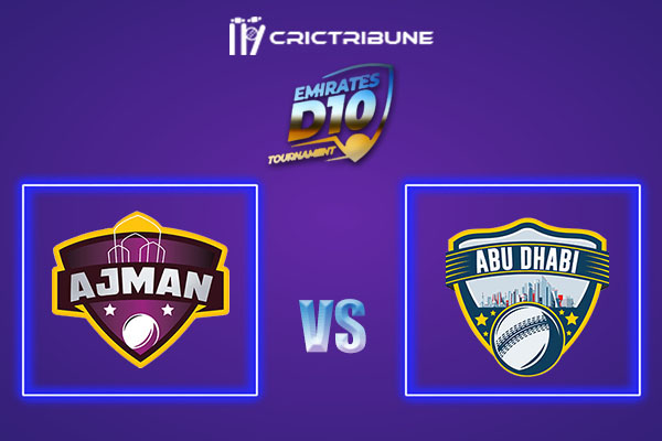 ABD vs AJM Live Score,In theMatchof Emirates D102021 which will be played at Sharjah Cricket Stadium, Sharjah. ABD vs AJM Live Score,Match between Ajman...
