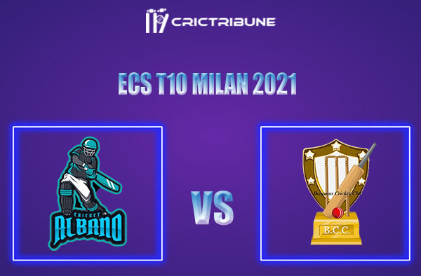 ALB vs BCC Live Score, In the Match of ECS T10 Milan 2021 which will be played at Milan Cricket Ground, Milan. ALB vs BCC Live Score, Match between Albano......