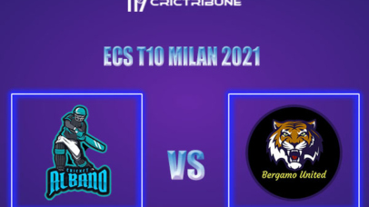 ALB vs BU Live Score,In theMatchof ECS T10 Milan 2021which will be played at Milan Cricket Ground, Milan. ALB vs BU Live Score,Match between Albano........