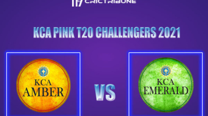 AMB vs EME Live Score,In theMatchof KCA Pink T20 Challengers2021which will be played at Sanatana Dharma College Ground in Alappuzha. AMB vs EME Live Score.