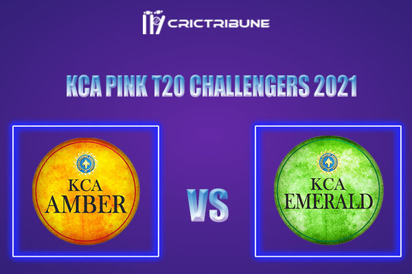 AMB vs EME Live Score, In the Match of KCA Pink T20 Challengers 2021 which will be played at Sanatana Dharma College Ground in Alappuzha. AMB vs EME Live Score.