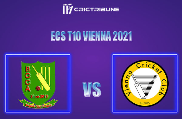BAA vs VCC Live Score,In theMatchof ECS T10 Vienna 2021which will be played at Seebarn Cricket Ground, Seebarn. BAA vs VCC Live Score,Match between........