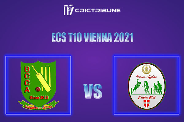 BAA vs VIA Live Score,In theMatchof ECS T10 Vienna 2021which will be played at Seebarn Cricket Ground, Seebarn. BAA vs VIA Live Score,Match between........