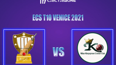 BCC vs MK Live Score,In theMatchof ECS T10 Milan 2021which will be played at Milan Cricket Ground, Milan. BCC vs MK Live Score,Match between Bergamo.......