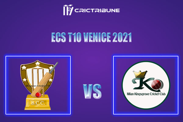 BCC vs MK Live Score, In the Match of ECS T10 Milan 2021 which will be played at Milan Cricket Ground, Milan. BCC vs MK Live Score, Match between Bergamo.......