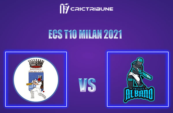 BOG vs ALB Live Score,In theMatchof ECS T10 Milan 2021which will be played at Milan Cricket Ground, Milan. BOG vs ALB Live Score,Match between Bergamo.....