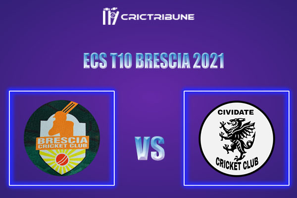 BRE vs CIV Live Score, In the Match of ECS T10 Brescia 2021 which will be played at Brescia Cricket Ground, Brescia. BRE vs CIV Live Score, Match between.......