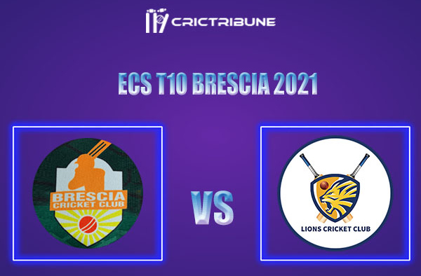 BRE vs PLG Live Score, In the Match of ECS T10 Brescia 2021 which will be played at JCC Brescia Cricket Ground, Brescia. BRE vs PLG Live Score, Match between...