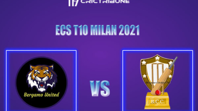 BU vs BCC Live Score,In theMatchof ECS T10 Milan 2021which will be played at Milan Cricket Ground, Milan. BU vs BCC Live Score,Match between Bergamo United